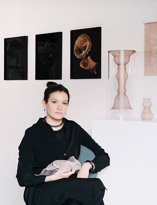 Julia Smirnova -in atelier